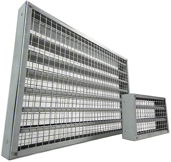 Intumescent Fire Grilles / Fire Blocks